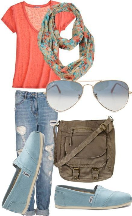 Summer Outfit – New Shoes Included
