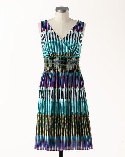 Tie Dye Printed Dress