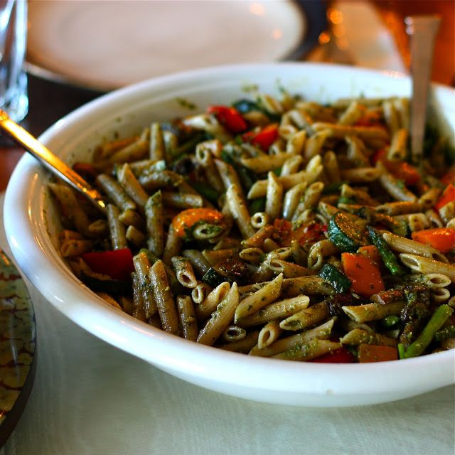 and marinara recipes dishmaps campanelle with roasted vegetables and ...