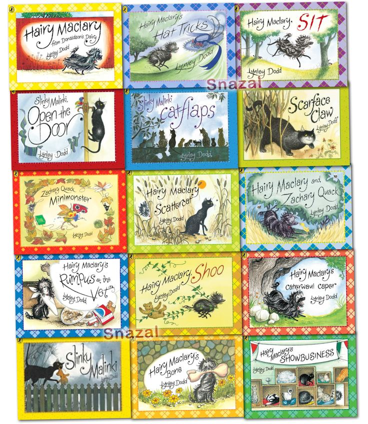 Hairy maclary amp friend collection lynley dodd 15 books set pack slink