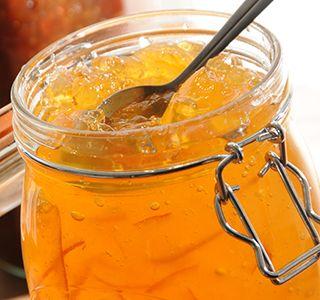 Orange marmalade looks beautiful in Kilner Clip Top Jars for Canning ...