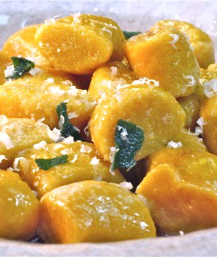 Pumpkin Ricotta Gnocchi Recipe — Dishmaps
