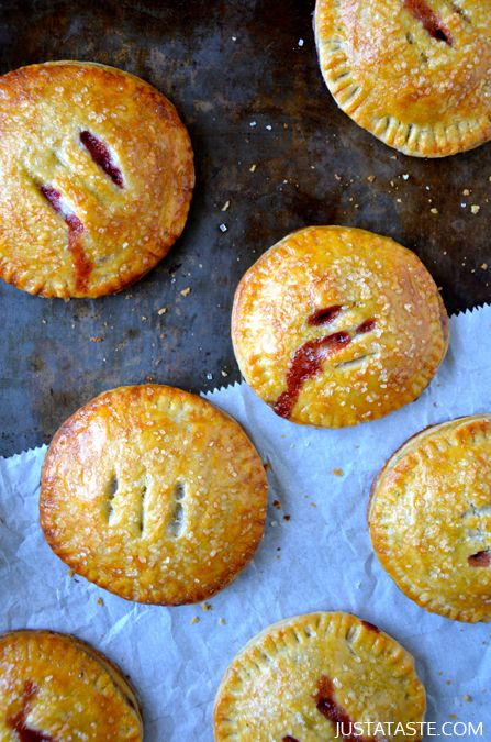 Strawberry and Nutella Hand Pies recipe   Strawberry and Nutella are ...
