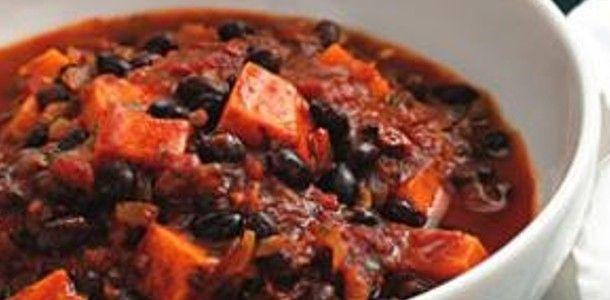 black bean chili | Food | Pinterest