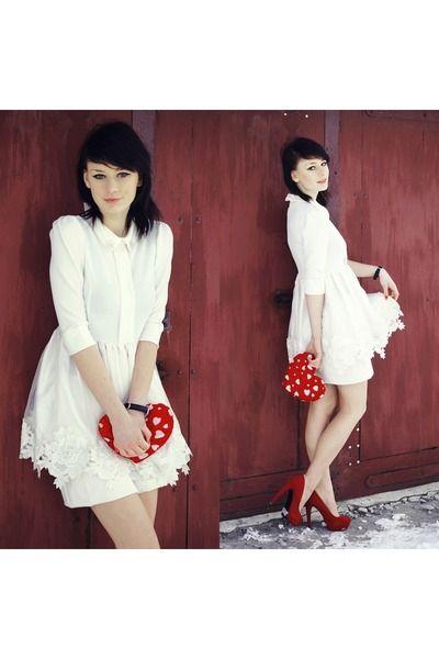 valentine's day lace dress