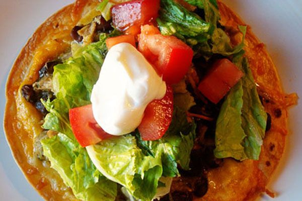 Mels Kitchen Cafe  Salsa Verde Tostadas