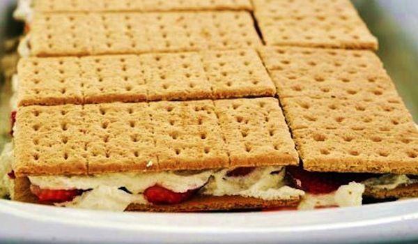 "Graham Cracker ""Ice Cream"" Sandwiches That are Actually Pretty ..."