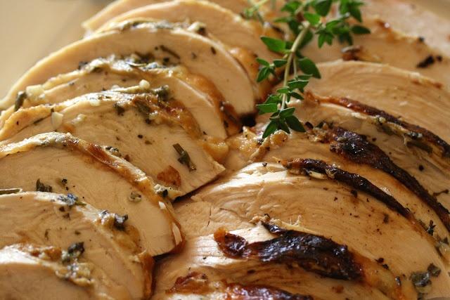 Herb Roasted Turkey Breast   FOOD!   Pinterest