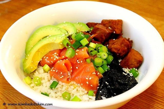 sushi bowl! | food | Pinterest