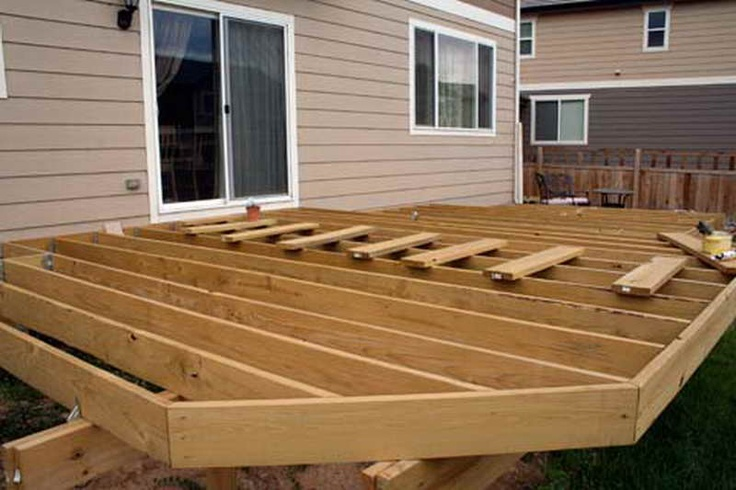 Low profile deck gardens ideas and outdoor spaces for Building a low profile deck
