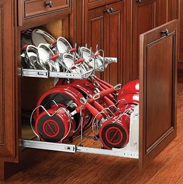 Two Tier Cookware Organizer