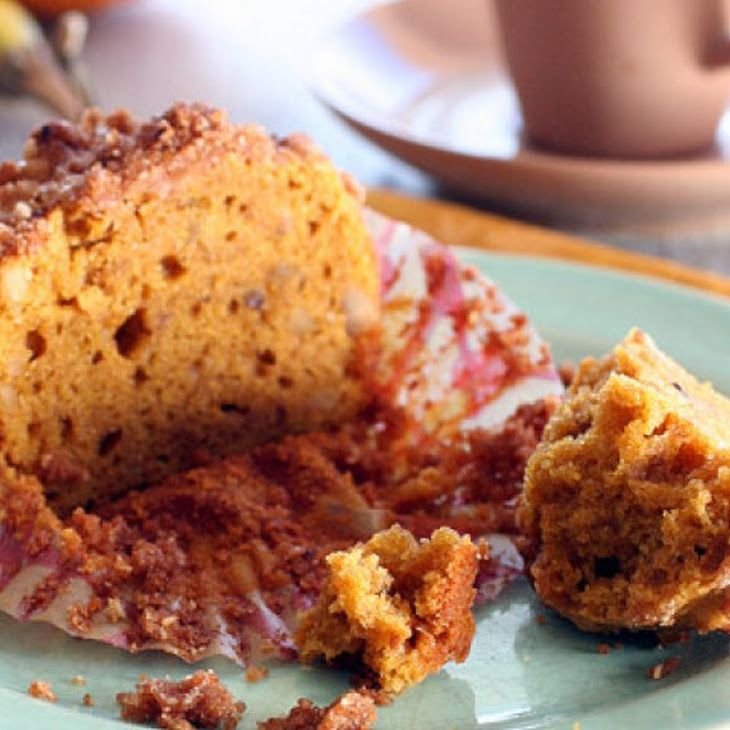 Gluten-Free Pumpkin Streusel Muffins | Yum | Pinterest