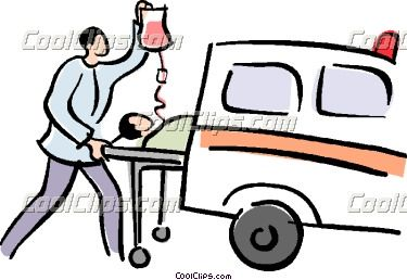 Gallery For > Patient On Stretcher Clipart