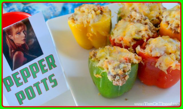 Pepper Potts' Stuffed Bell Peppers - Mom On Timeout | To Make List ...