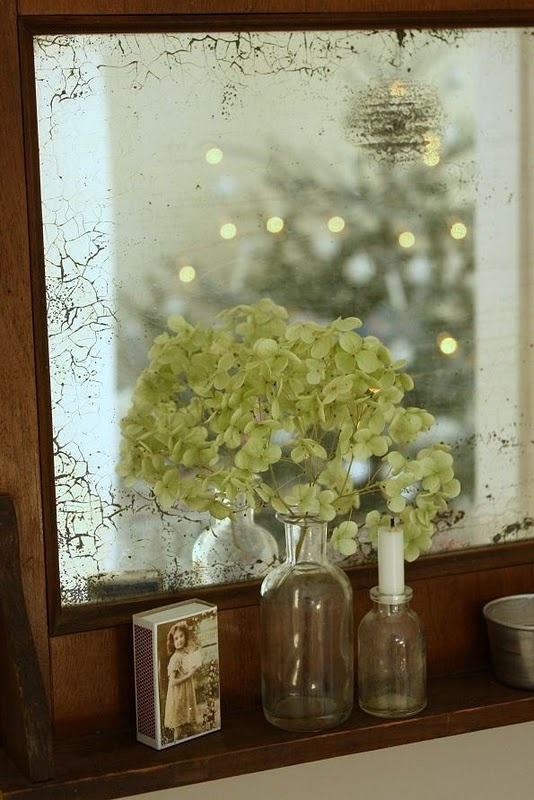 beautiful old mirror