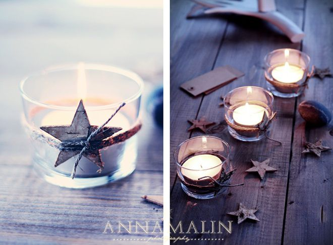 Beautiful idea for candles