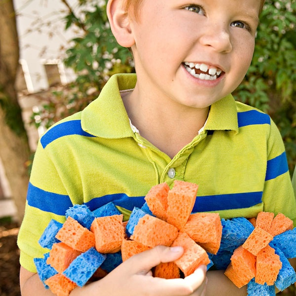Have some outdoor water fun with these super-soaked balls that you can make in less than 30 minutes!