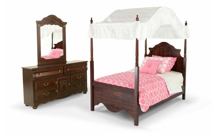 Canopy Bedroom Sets Bobs Furniture