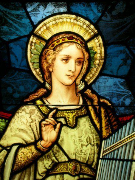 St. Cecilia | saint cecilia | Pinterest