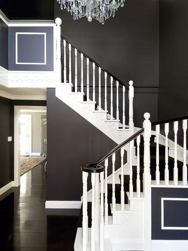 Black And White Foyer Amazing Home Designs Amp Interiors