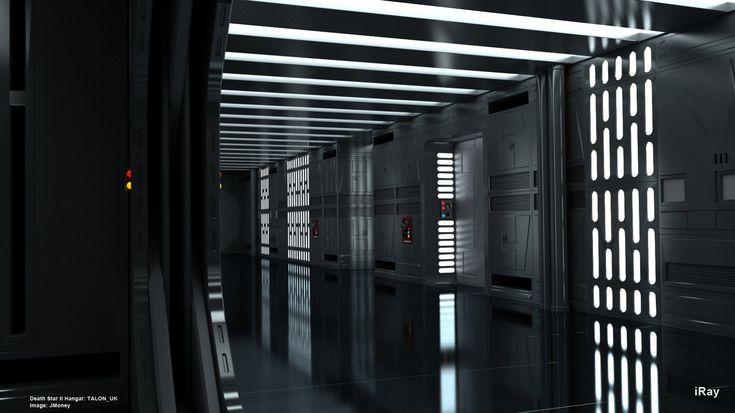 Star Wars Death Star Interior Deathstar Corridors