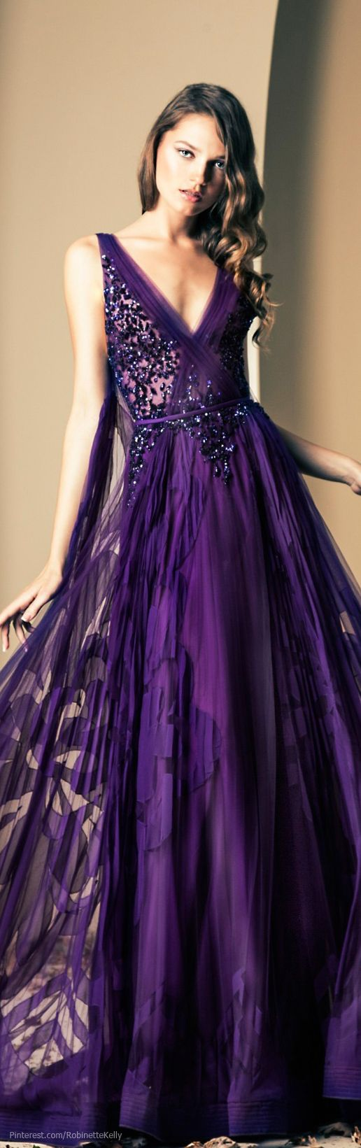 purple coctail dress
