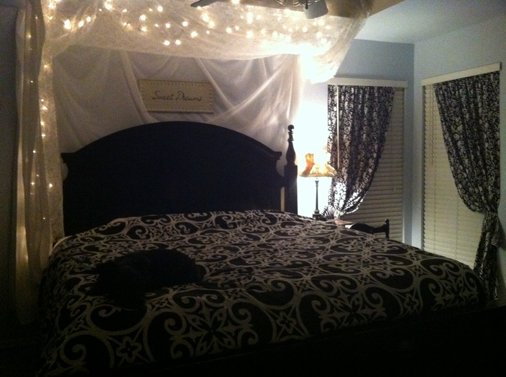 my twinkle light and lace bedroom the perfect details