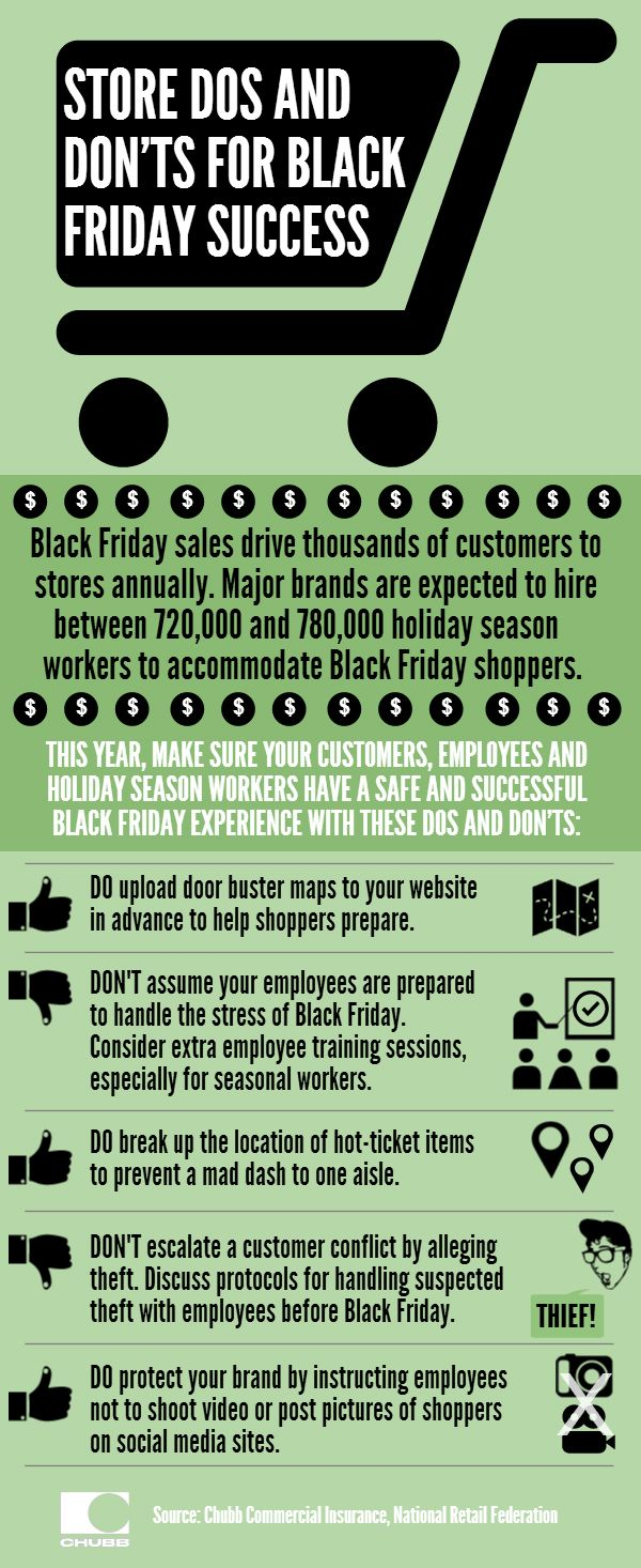 Black Friday Store Safety | Safety Tips | Pinterest