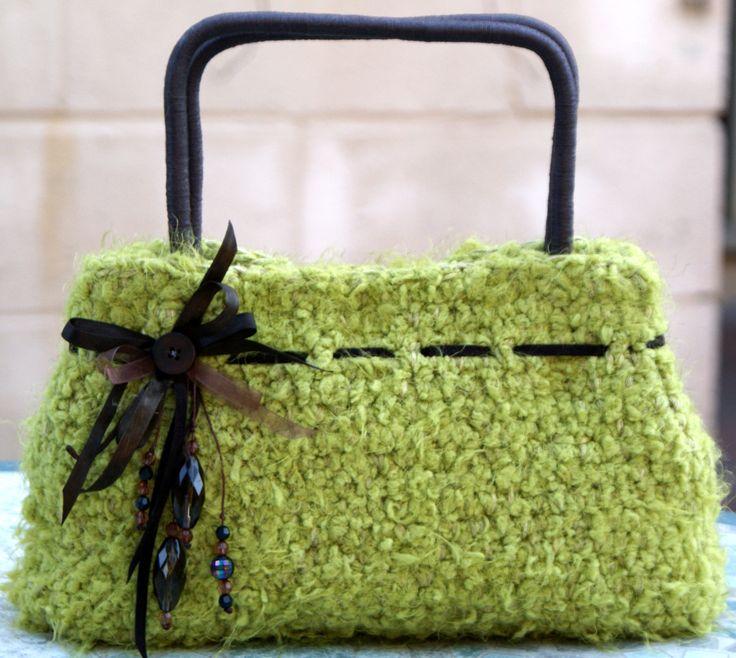 Crochet Bags Pinterest : Crochet bag Bags, bags, bags Pinterest