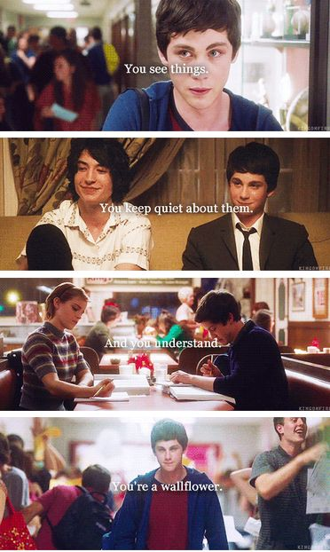 the perks of being a wallflower- this sounds like the way I am sometimes :-)
