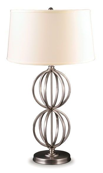 Silver Gyro Table Lamp by CORT || furniture.cort.com
