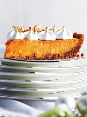 Sweet Potato Meringue Pie | Eat it up | Pinterest
