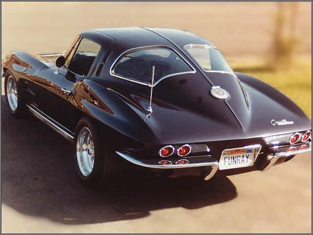 63 split window corvette trains planes and automobiles for Corvette split window 63