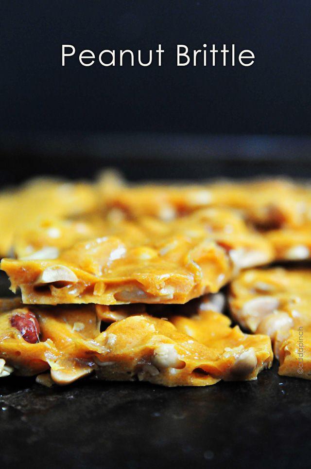 Peanut Brittle Recipe from addapinch.com
