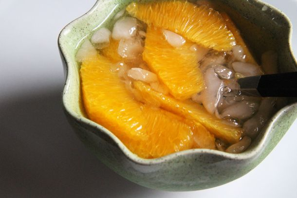 Orange in Iced Syrup (Som Loy Kaew) | Recipe