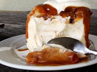 Caramel Apple Cream Cheese Mousse ..... oh my!