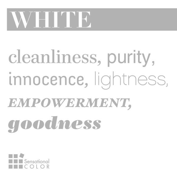 Meaning of the color white 50 shades of white pinterest