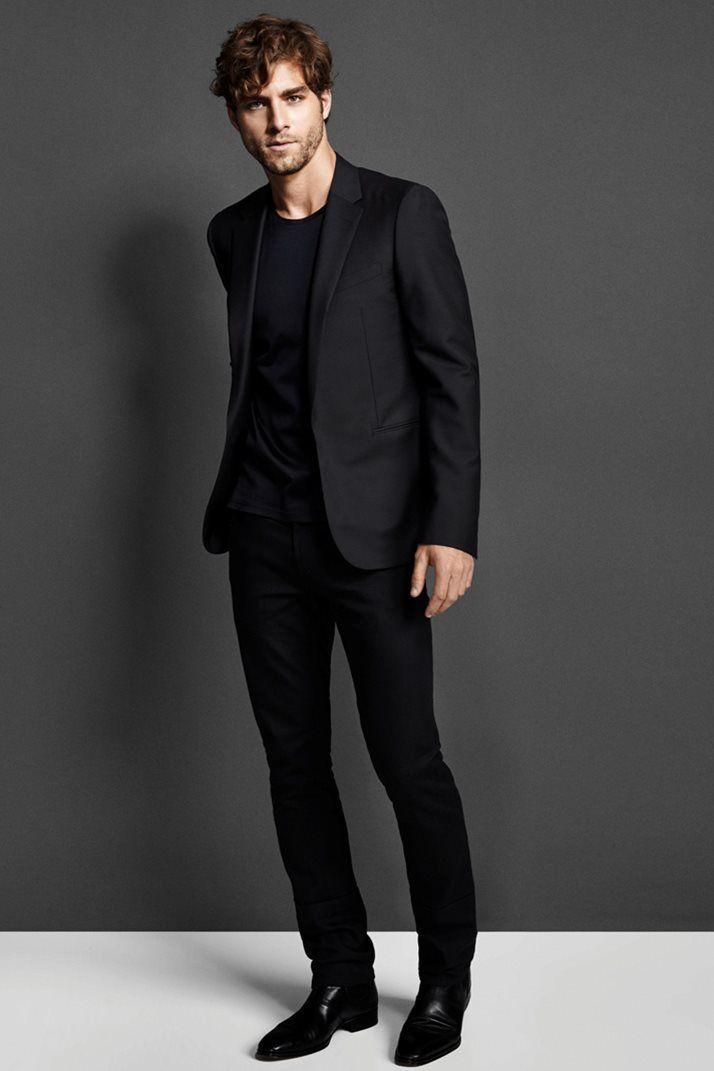 Стиль одежды для мужчины черное