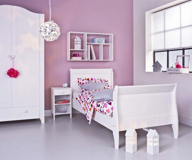 ... echte slaapkamer voor prinsessen #wooninspiratie #slaapkamer #karwei