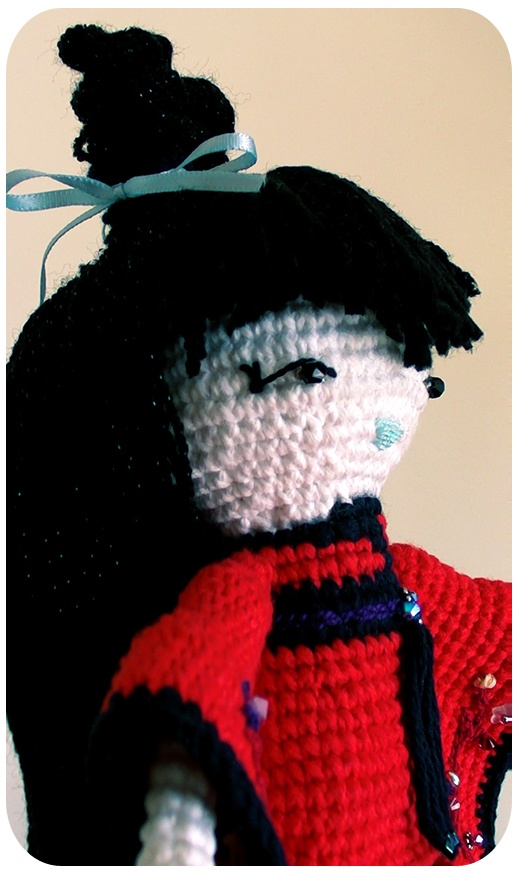 Amigurumi Japanese Doll Amigurumis, crochet...5 Pinterest