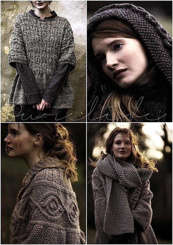 loving the sweater!