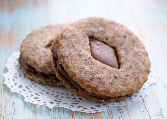 Mocha Cappuccino CookiesL espresso shortbread with milk chocolate ...