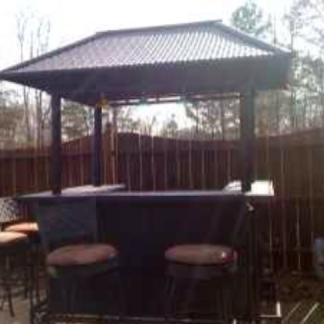 Tiki Bar Outdoors : Outdoor Tiki bar  My creative outdoor living wish list!!  Pinterest