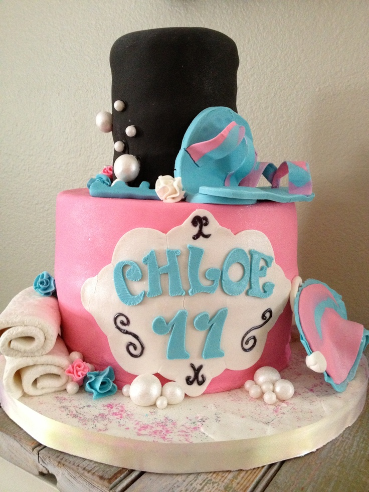 Spa Party Cake Images : Spa Party Cakes Cake Ideas and Designs