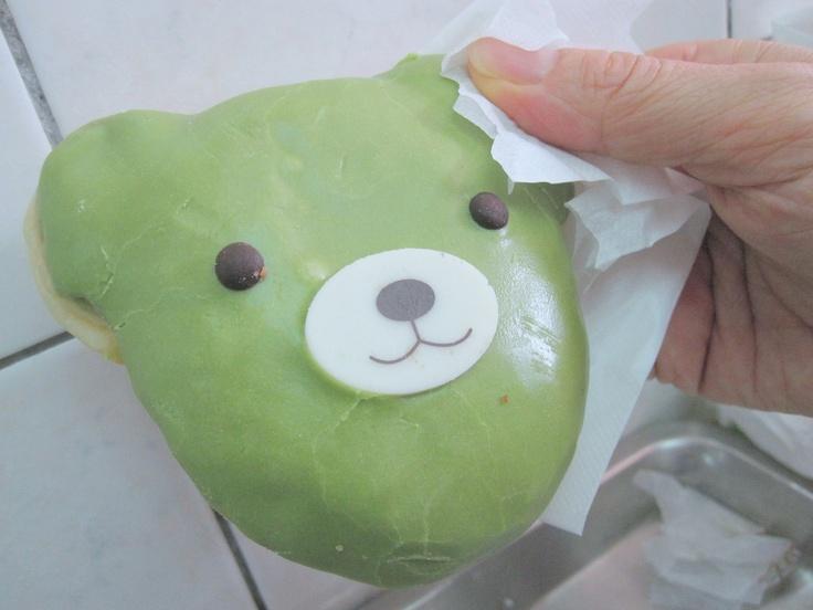 More like this: green teas , doughnuts and bears .