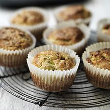 Leek and Cheddar Muffins | Weight Watchers Side Dishes | Pinterest