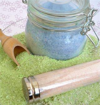 Amazing bath salts,colorful
