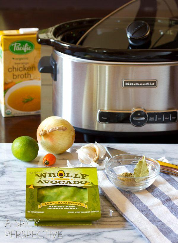 Guacamole Soup (Avocado Soup)