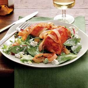 ... -search/salad-recipes/baked-buffalo-chicken-with-blue-cheese-salad