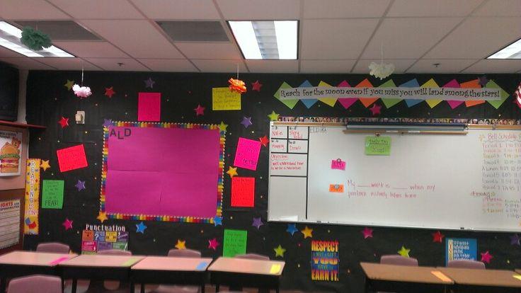 Neon Classroom Decor : Neon classroom for middle school my